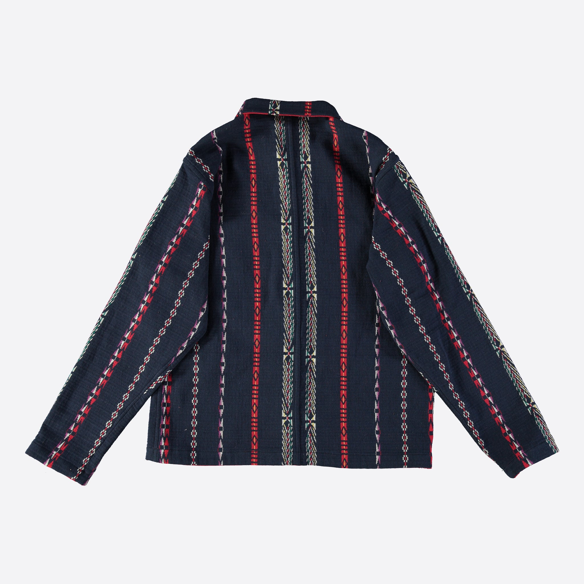 Eat Dust Malibu Reversible Jacket Piccu Jacquard in Navy