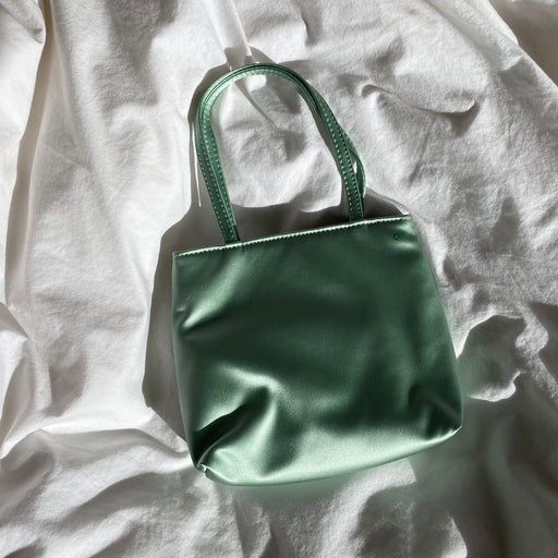 Home of Hai Little Silk Bag in Light Green