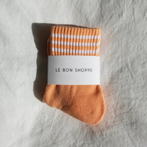 Le Bon Shoppe Girlfriend Socks in Grapefruit
