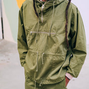 Eat Dust Everest Smock in Jungle Green RipStop
