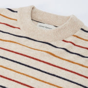 Oliver Spencer Blenheim Jumper in Sierra Ecru Multi