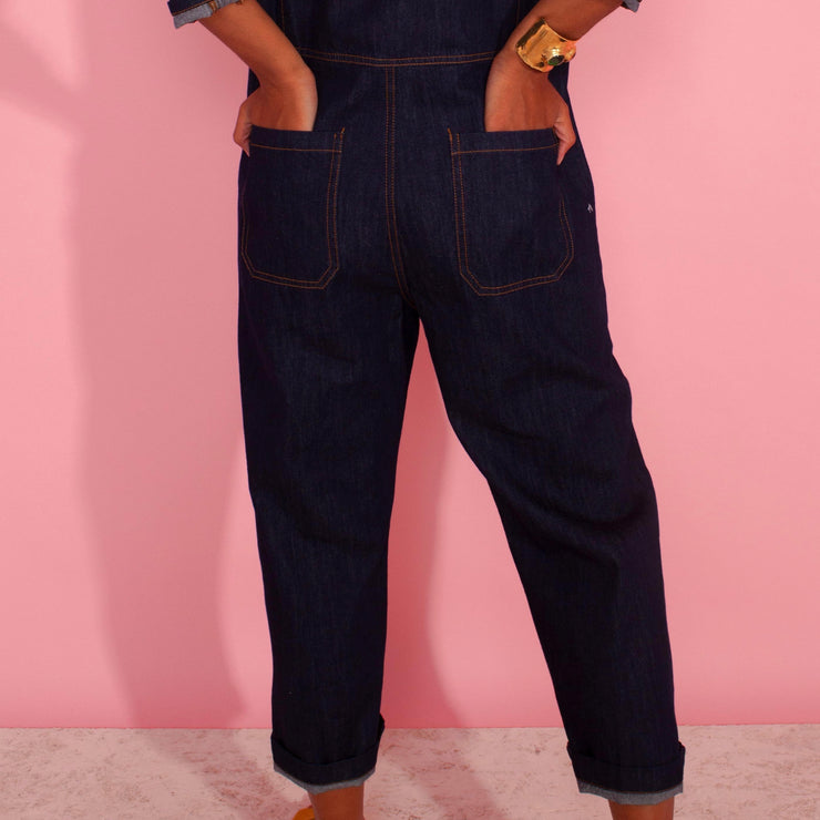 LF Markey Dominic Boilersuit in Indigo