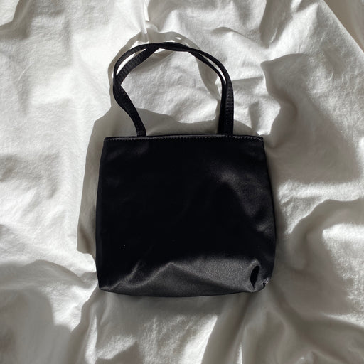 Home of Hai Little Silk Bag in Black