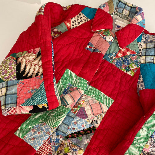Carleen Raglan Quilt Coat in Small
