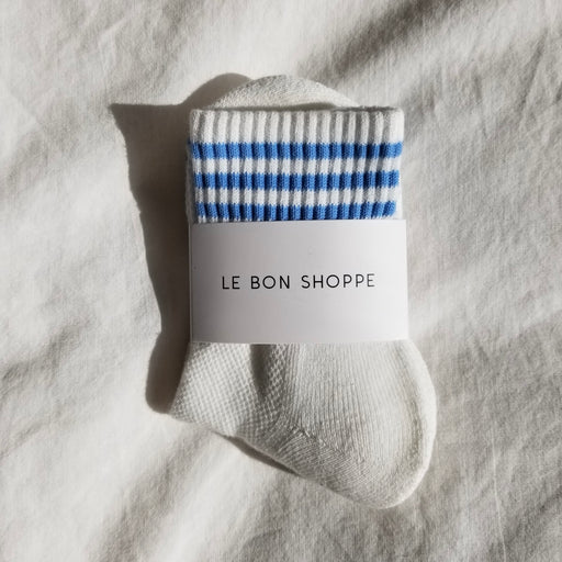 Le Bon Shoppe Girlfriend Socks in Ivory