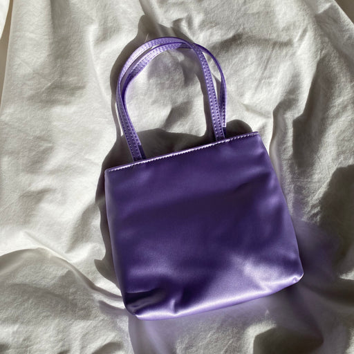 Home of Hai Little Silk Bag in Lilac