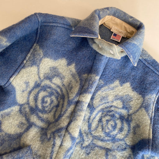 Carleen Ardmore Blue Rose Blanket Jacket in Medium