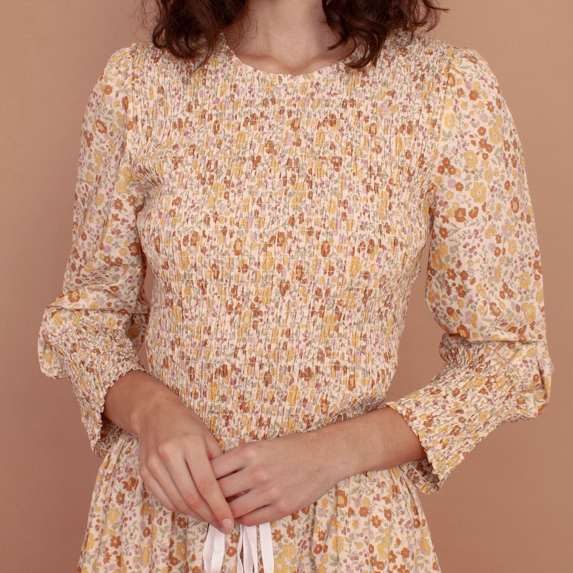 Meadows Rose Top in Vintage Country Floral
