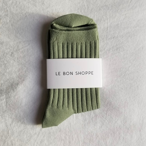 Le Bon Shoppe Her Socks in Sage