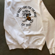 Eat Dust 'For The Road' Sweat in White