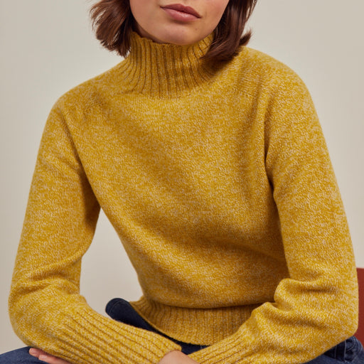 Sideline Keere Jumper in Yellow Marl