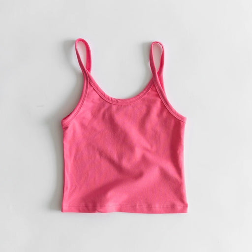 Arq Crop Tank in Bubblegum
