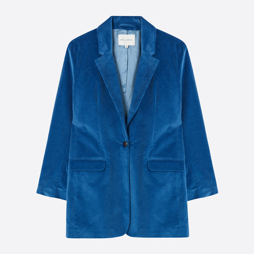 Mr Larkin Hall Blazer in Hilma Blue