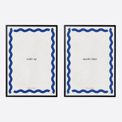 Hotel Magique 'Wake Up / Maybe Later' A3 Prints