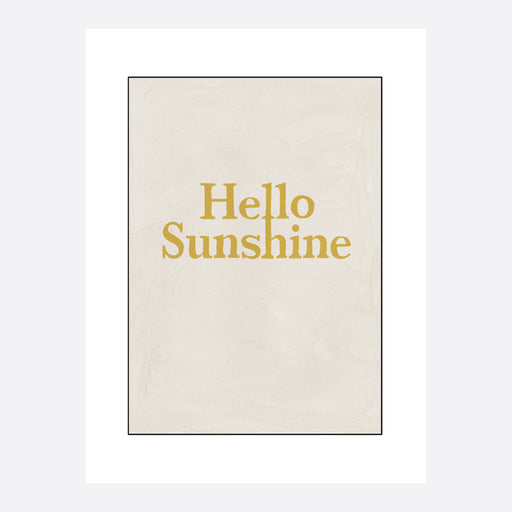 Hotel Magique 'Hello Sunshine' Greeting Card