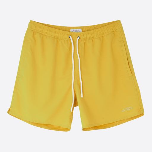 Saturdays NYC Timothy Swim Short in Goldenrod
