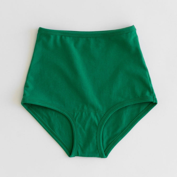 Arq High Rise Undies in Verdant