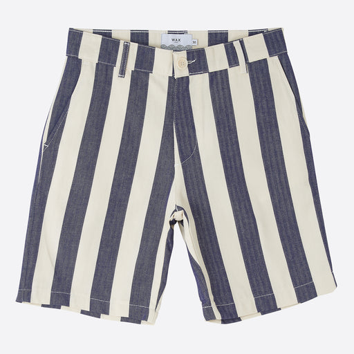 Wax London Holm Shorts in Beach Blue Stripe