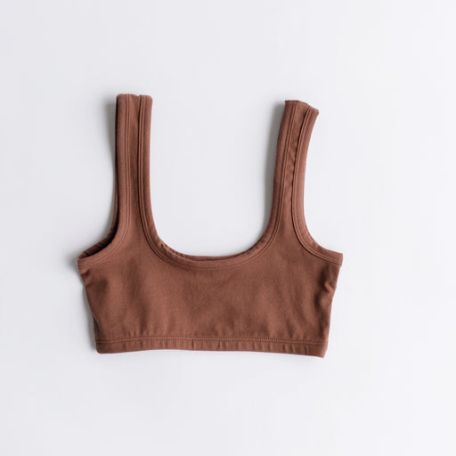 Arq Wide Strap Bra in Spice