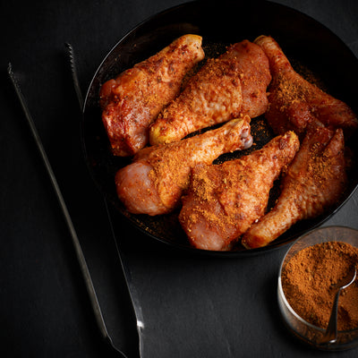 Peri Peri seasoned drumsticks