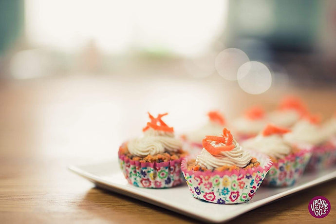 No-Bake Carrot Cupcakes