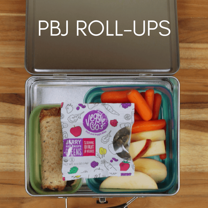 PBJ Rollup Lunchbox Idea