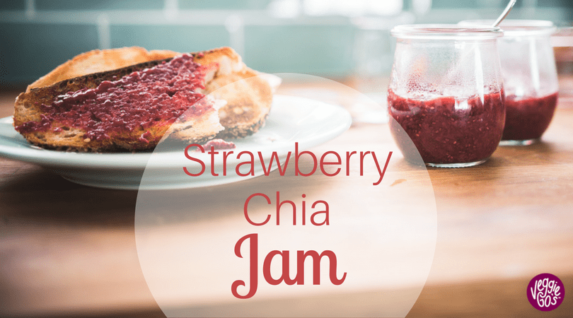 Strawberry Chia Jam blog title
