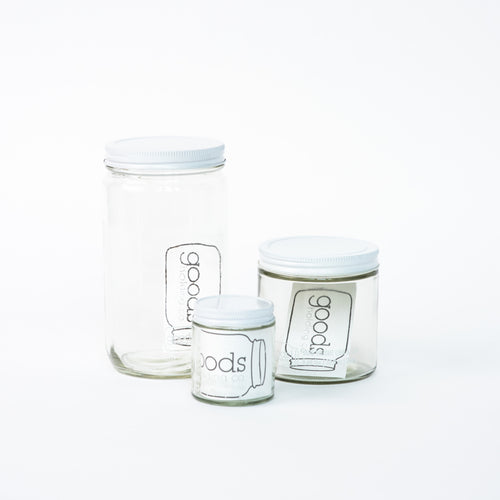 Tare Jars (3 sizes)