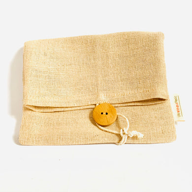 Adjustable Jute Sundries/Snacks Bag