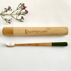 Adult Bamboo Toothbrush + Travel Case (sold seperately)