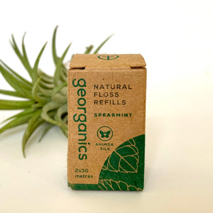 Natural Silk Dental Floss Refills (set of 2)