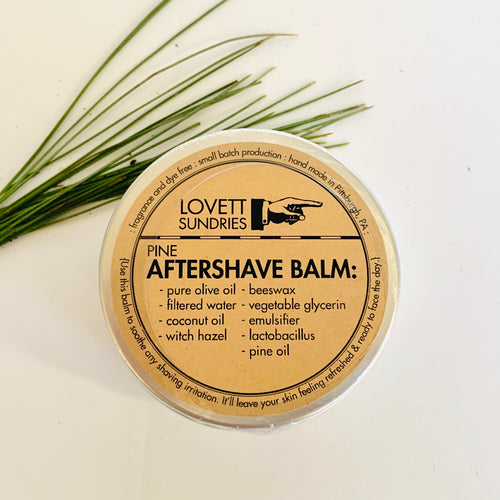 Aftershave Balm - Pine