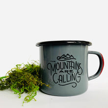 Load image into Gallery viewer, Enamel and Stainless Steel Mug