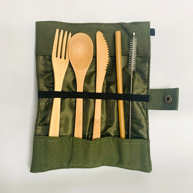 Bamboo Travel Cutlery