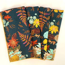 Load image into Gallery viewer, Botanical Napkins (set of 4, two colors available)