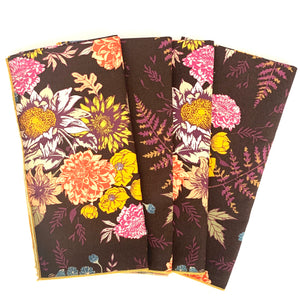 Botanical Napkins (set of 4, two colors available)