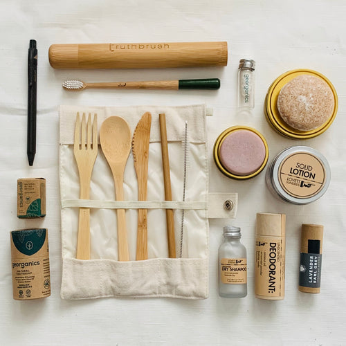 Zero-Waste Travel Kit (Explorer's Strength)