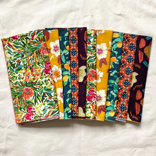 Everyday Botanical Cloth Napkins (set of 10)