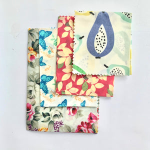 Beeswax Wraps (set of 4)