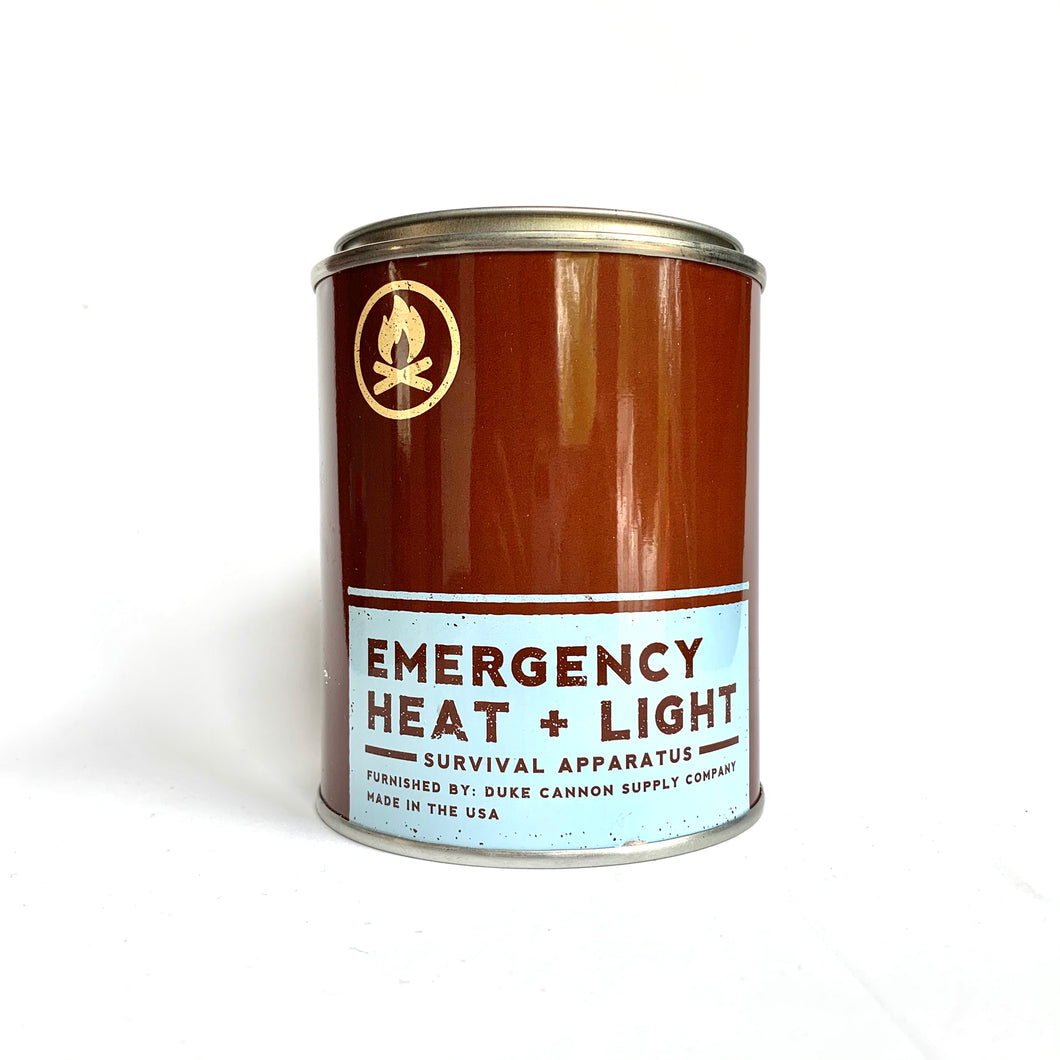 Emergency Heat + Light Soy Candle