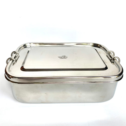 Stainless Steel Rectangular Airtight Food Storage Container
