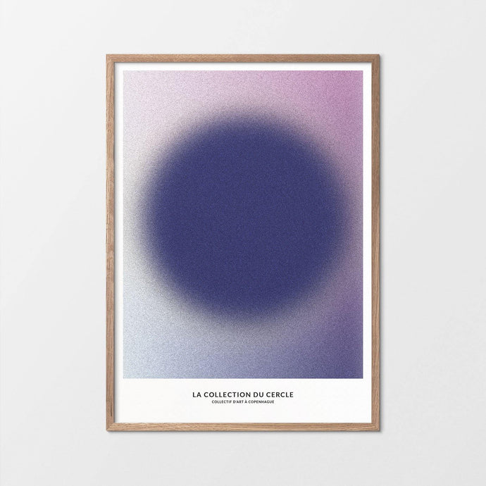 La Collection du Cercle - Inner Purple - Copenhagen Art Collective