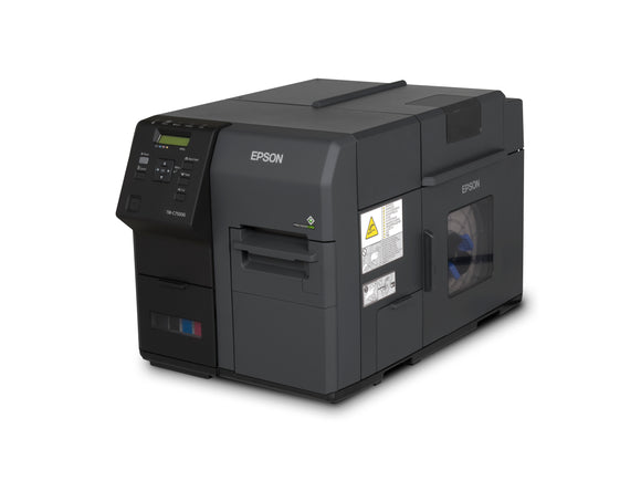 Epson TM-C7500G, ColorWorks 4-Color Glossy Label Printer, USB and Ethernet