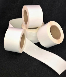 "4"" x 85' Continuous High Gloss Paper Inkjet Labels for Epson C3400 / C3500 (12 rolls)"