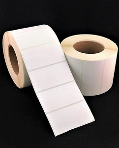 "<strong>4"" x 1""</strong><br>Die Cut GHS Matte Synthetic Inkjet Labels for Epson C3400 / C3500<br>(8 Rolls)"