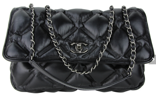 Unique Chanel Large Chesterfield Quilted Shoulder Bag