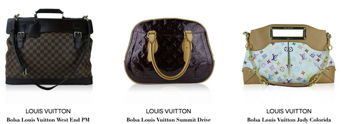 All Louis Vuitton bags