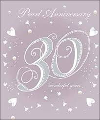 Anniversary - 30th Pearl
