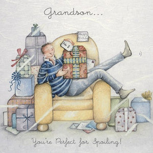 Grandson - You're perfect for Spoiling