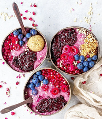 handmade coconut bowls perfect for smoothie bowls